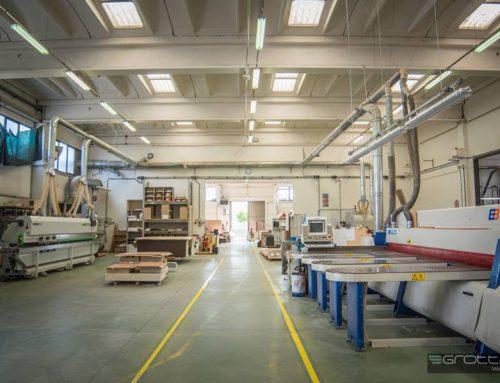 Grottaroli e l'Istituto Tecnico Superiore per il Legno-Arredo